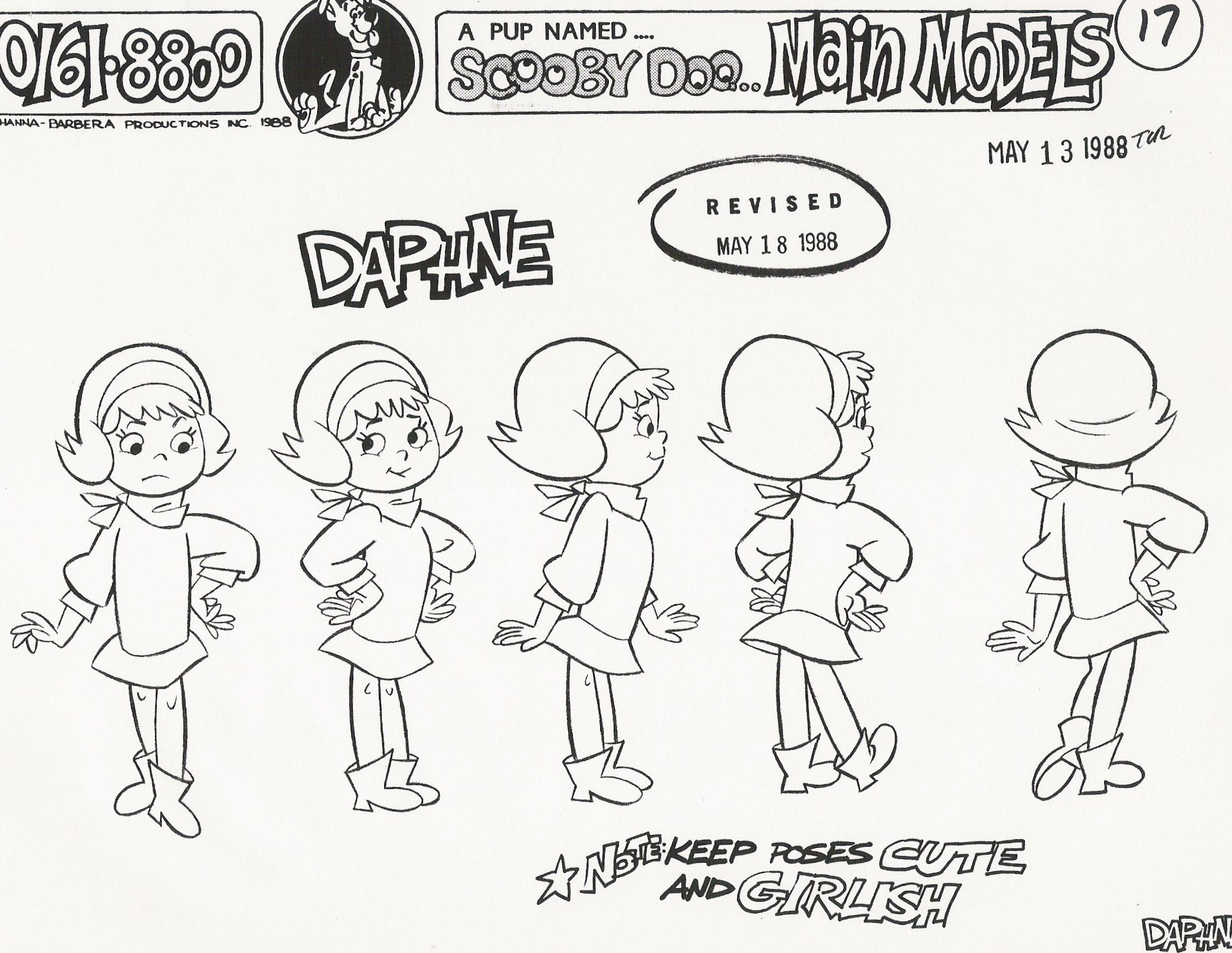 scooby_doo | High quality Pup Named Scooby Doo model sheets!