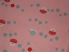 Snails and Clovers (This and That From Japan) Tags: japan forsale sewing snail craft cotton etsy clover yuka yardage decole desinger artfire saji japanesefabric dawanda decolello thisandthatfromjapan