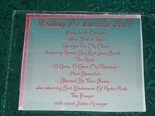 Songs on 2008 CD