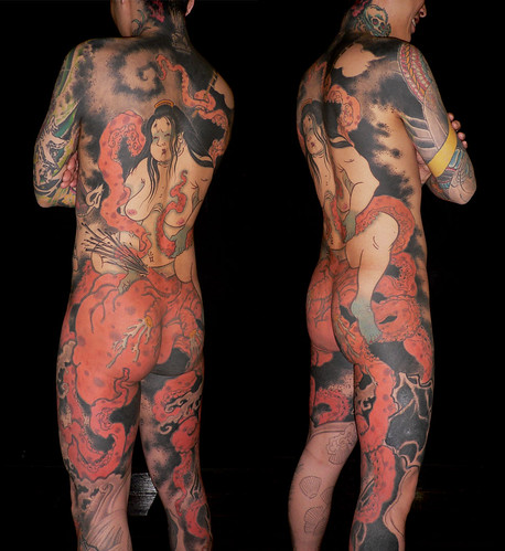 Amazing Traditional Japanese Tattoo