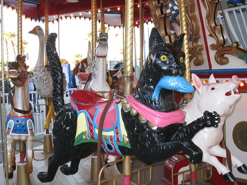 Carousel at Belmont Park
