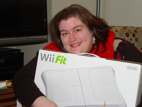 And it's a Wii Fit!!!