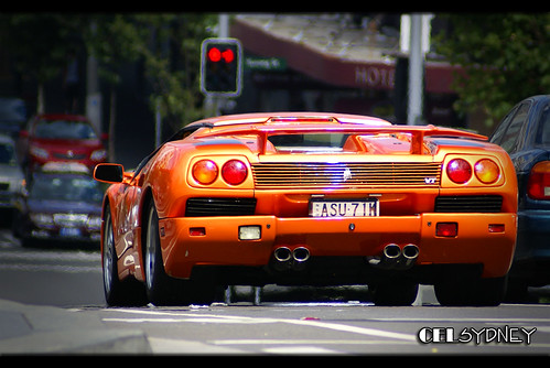 Lamborghini Diablo VT More Space