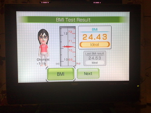 My Wii Weight