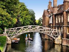 Mathamatical Bridge Cambridge, England (saxonfenken) Tags: bridge cambridge england river boats bridges thumbsup punting perpetual punts e500 gamewinner 9982 challengeyouwinner madeofbricks aug2007 friendlychallenge mathamaticalbridge thechallengefactory challengefactory herowinner storybookwinner pregamewinner 9982bridge
