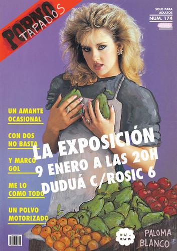 Exposición Porno Tapados de Paloma Blanco en Duduá