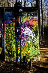 Colors (Zlatko Unger) Tags: park atlanta urban mill abandoned ga georgia graffiti woods grafitti atl mason abandon decatur exploration waterworks desolation atlantagraffiti urbex georiga unger zlatko masonmill masonmillpark zlatkounger zlatty