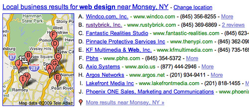 Google Local Generic Now
