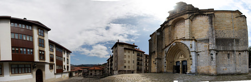 Guernica Church Panorama