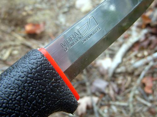 Mora blade stamp