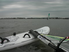 First time on the water for RRD Evolution 148lt & Goya Guru 5.0m