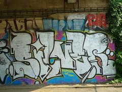 SILVER (JOHN19701970) Tags: streetart silver graffiti paint artist republic czech prague graf may praha spray czechrepublic spraypaint cz aerosol 2011