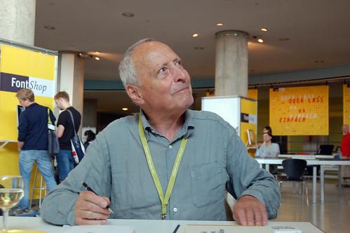 Jost Hochuli book signing