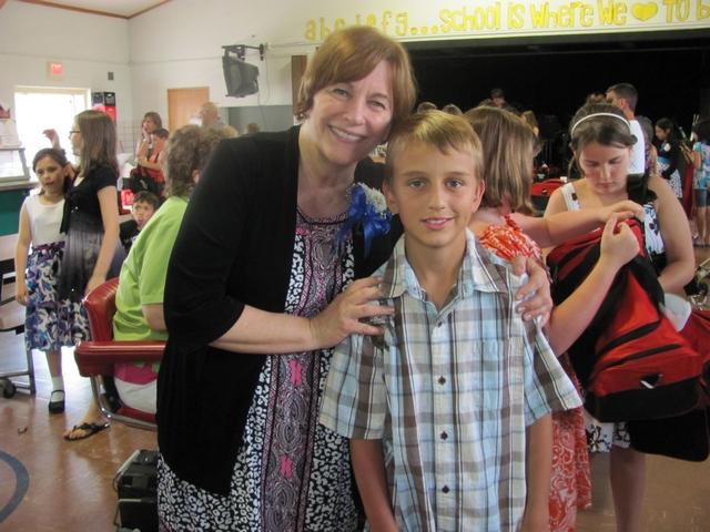 Blake and the Principal