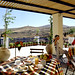 Lefkes Village Hotel: Breakfast room veranda