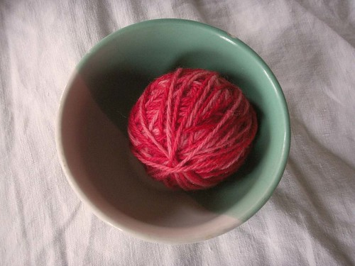 strawberry yarn