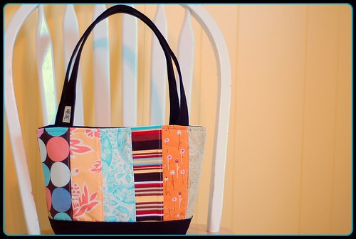 Simple Patchwork Tote