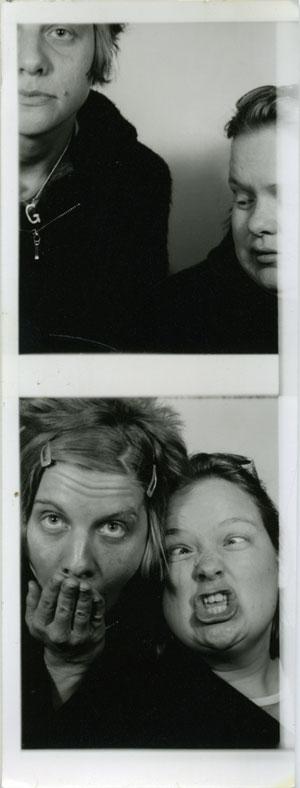 me & annemarie, circa 1999