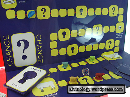 dolly board game