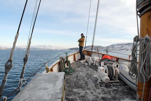 9h : Nav vers Rossneshamn (1h30) (Carte Reinoya) - Tromso Norvège