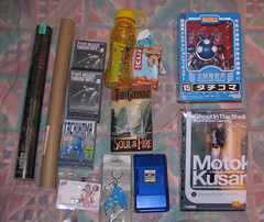 What was in my bag at Sakura-Con 08.