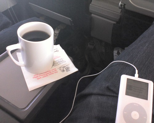 Traveling to Monterrey, Mexico - First Class on Northwest is nice!