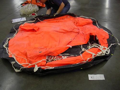 Raft deflated