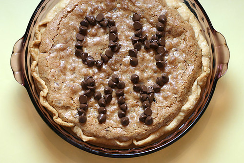 Chocolate Chip Cookie Pie… oh my!