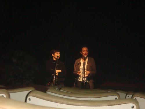 BAFICI 2008: Aurelia Georges, en la sala Leopoldo Lugones