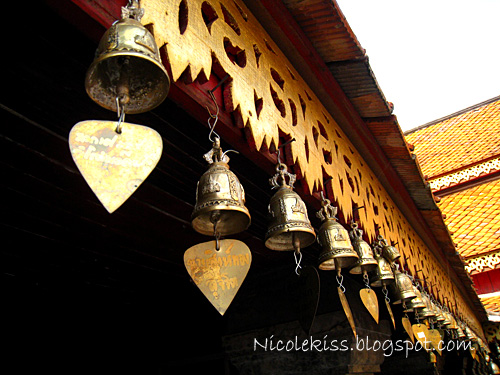 bells at doi suthep temple