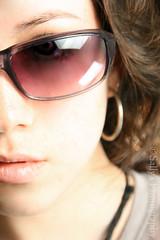 Glamour (ally) Tags: portrait sun girl fashion closeup self glasses glamour women soft bright teenager brunette portraitaward overtheexcellence sallysphotography