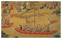 Procesion Imperial-detalle-anonimo-Dinastia Ming-1368-1644-tamaño mas de 30 mts X 92 cms