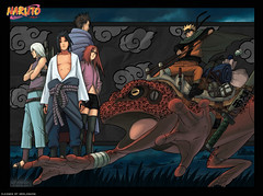 Naruto and team hebi