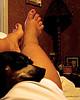 ~FUTAB~...workin from home...~ (mintasfotos) Tags: nikon coolpix pointshoot futab feetuptakeabreak whendidmycalvesgetsofat bellathinkssotoooo seepammiidonotneglecttheotherelectronicchildren workingfromhomerocks