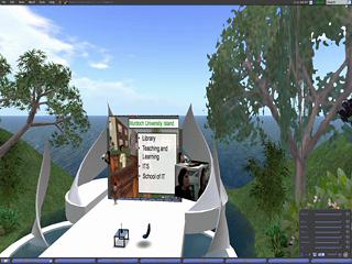 Streaming live video Murdoch Uni Island