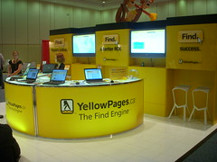 YellowPages.ca booth at SES Toronto Conference