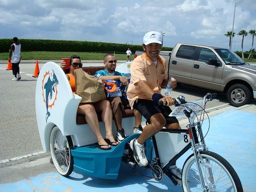 Rides before and after all Miami Dolphins Games!