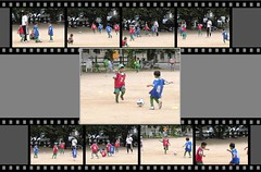 [motion print]-CIMG6620-1 (pinboke_planet) Tags: kids football video soccer casio 2008 motionprint exf1