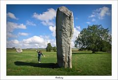 Standing Stones (scuba_dooba) Tags: uk england stone circle wiltshire vignette avebury worldheritage neolithic stonecircle henge inspiredbyhim