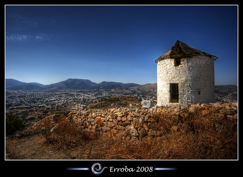 Windmill, Bodrum - Turkey