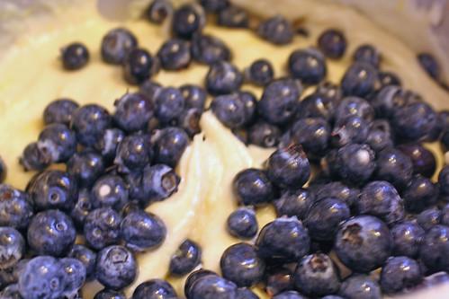 blueberrycake dough