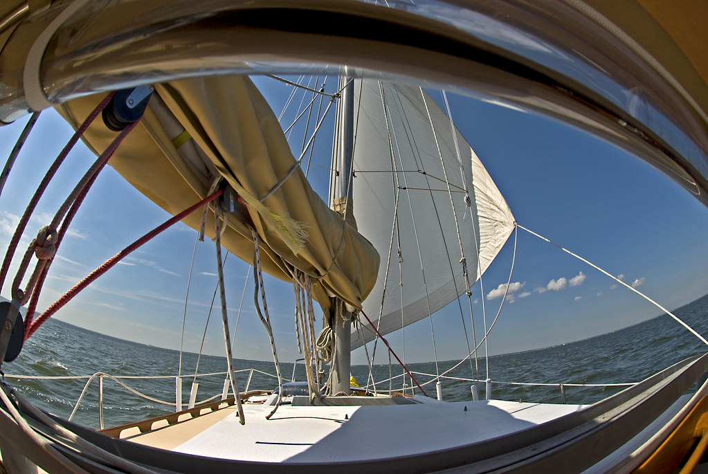 sailboat fisheye