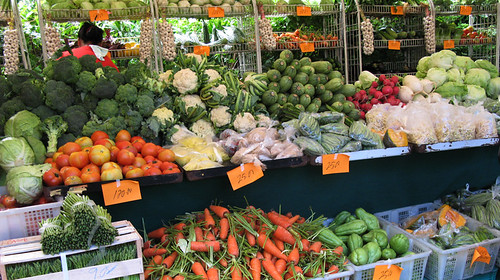 Salcedo Market - Organic Vegetables