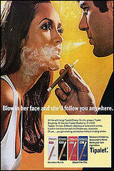 Blow in her face and she'll follow you anywhere (SA_Steve) Tags: old ads retro advertisements mpa sexist foundontheweb vintageads tipalet ifthesebelongtoyou letmeknowandillattributeorremovethem blowinherfaceandshellfollowyouanywhere
