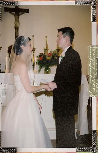 wedding vows, July 31, 2004