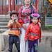 卓玛大姐和她的两个孩子