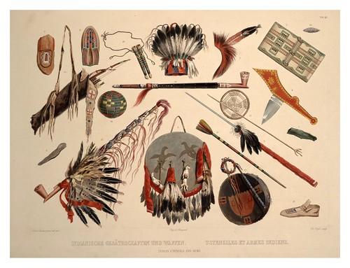 0081r-Utensilios y armas indias