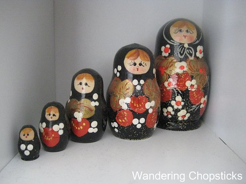 Russian Nesting Dolls from Tallinn, Estonia