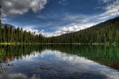 Lillian Lake (Chris Beauchamp) Tags: lake mountains canon lakes rocky trail tamron hdr lillian galatea kanaskis 1735 kcountry xti alemdagqualityonlyclub copyrightchrisbeauchamp20072009