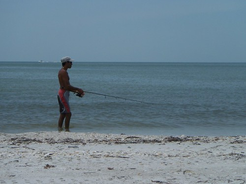 Fisherman at Barefoot Preserve